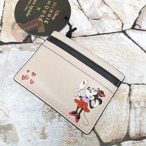Disney Minnie Small Slim Card Holder Kate Spade